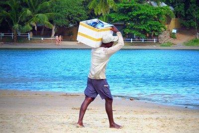 Fisherman Aragum Bay, Sri Lanka