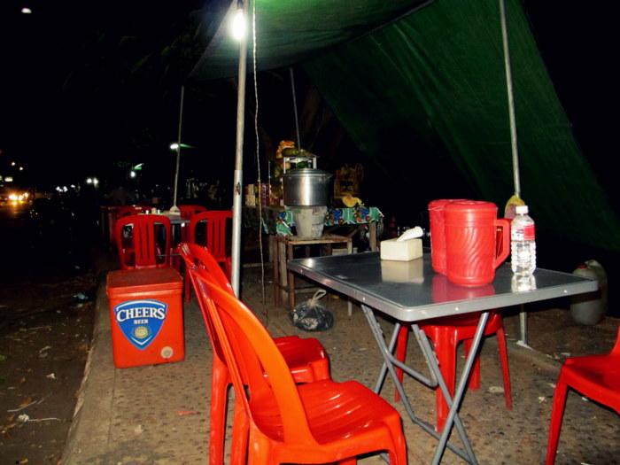Street Food in Kratie, Cambodia