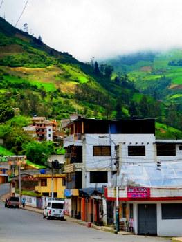Outside Banos, Ecuador