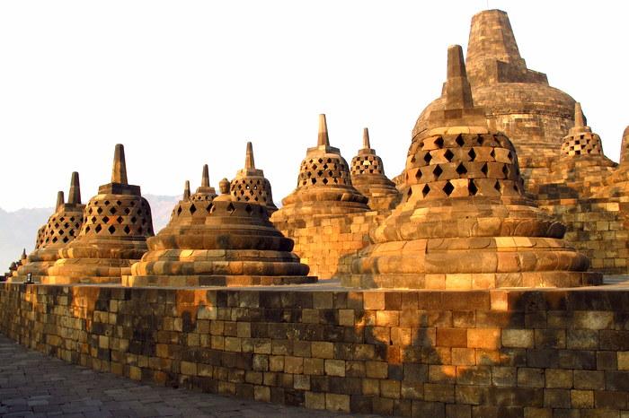 Borobudur Java, Indonesia