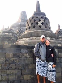 Borobudur shot Java, Indonesia