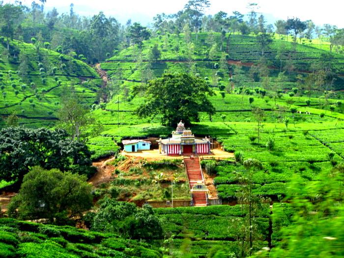 Ella, Sri Lanka Temple