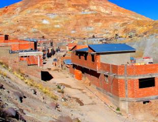 Potosi mining town, Bolivia