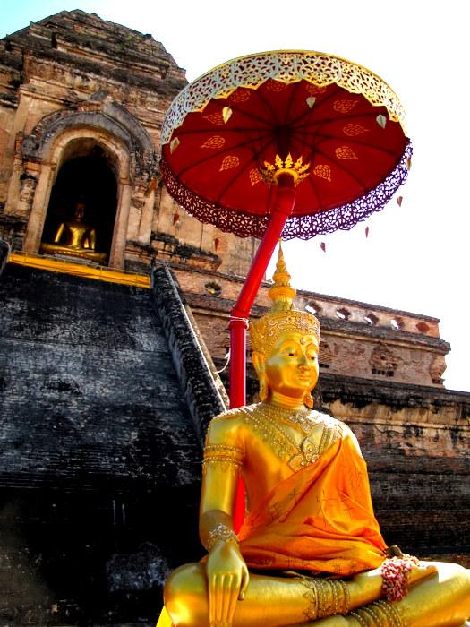 Wat Chedi Lunag Chiang Mai, Thaialnd