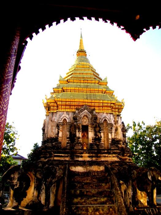 Wat Chiang Mun Chiang Mai, Thailand