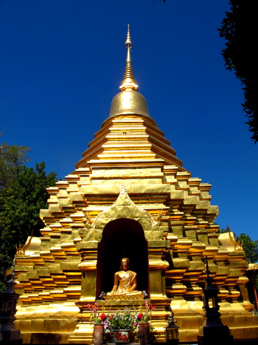 Wat in Chinag Mai, Thailand