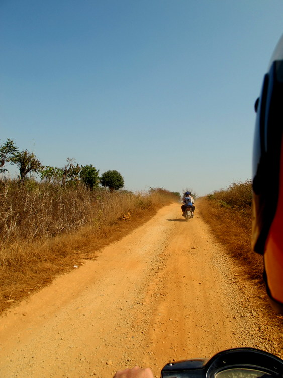 Dusty Roads to the villages