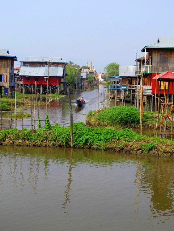 village life Inle Lake, Myanmar