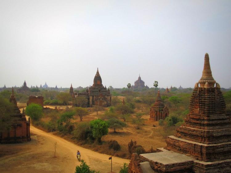 Ebikes in Bagan, Myanmar