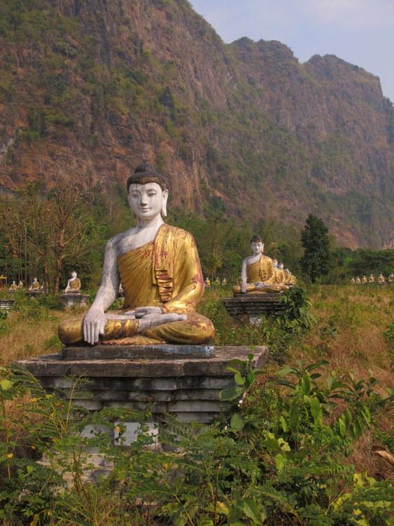 Field of Buddhas Hpaan, Myanmar