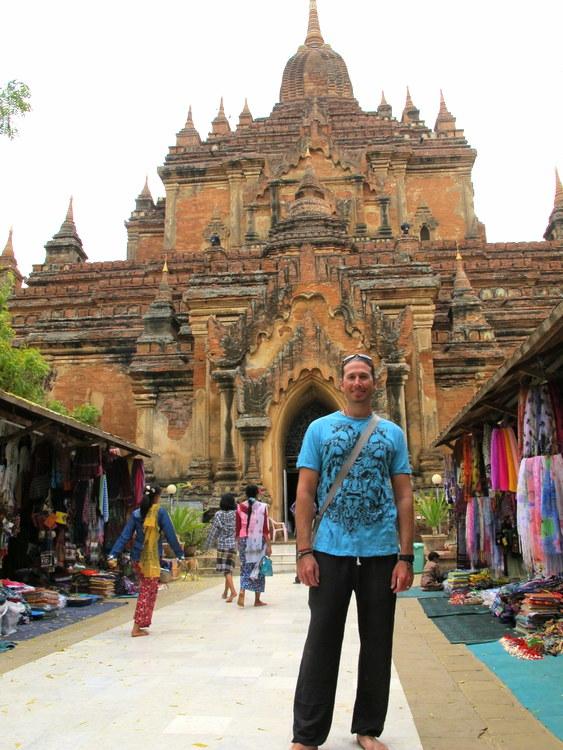 Nate in Bagan, Myanmar