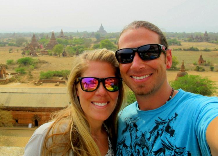Selfie in Bagan